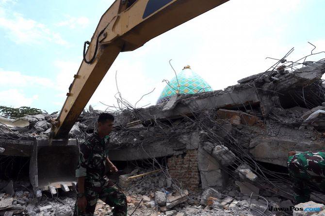Evakuasi Gempa Lombok