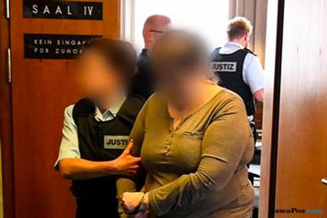 Prostitusikan Anak Lewat Internet, Ibu di Jerman Dipenjara 12,5 Tahun