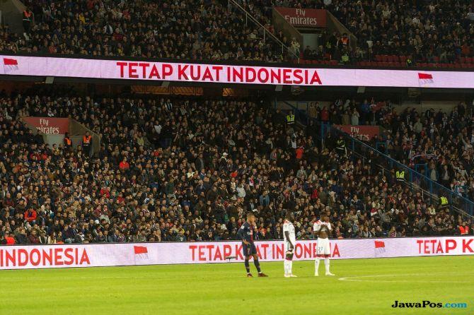 Paris Saint-Germain, Stadion Parc des Princes, Gempa Sulawesi Tengah, Gampa Palu, Donggala, Tsunami Palu, Indonesia