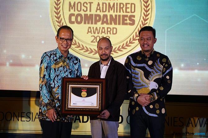 PT Honda Prospect Motor Raih Gelar Indonesia Most Admired Company 2018