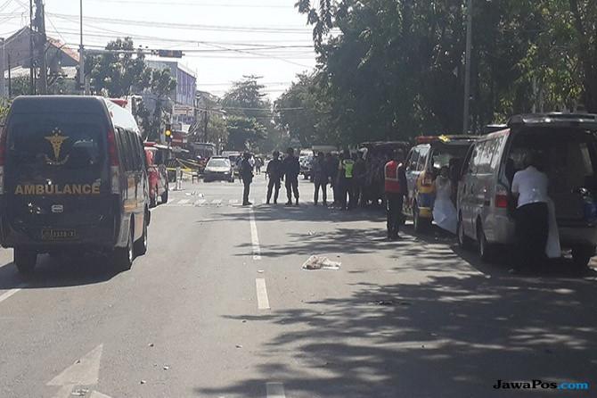 Puti Kutuk Aksi Terorisme di Surabaya