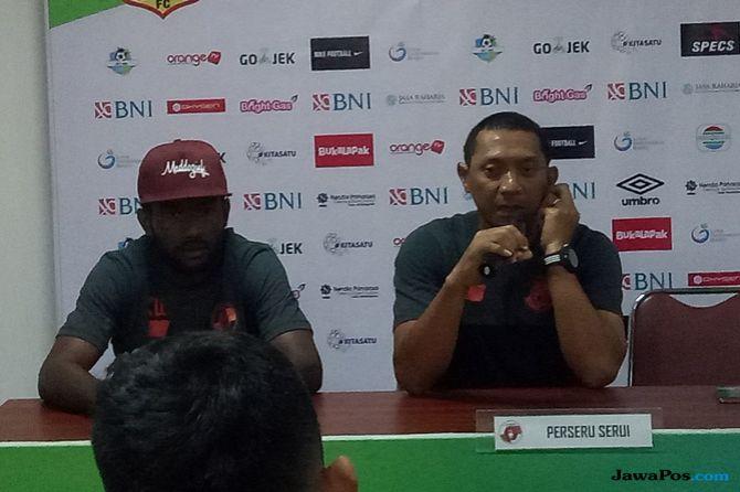 Perseru Serui, Bhayangkara FC, Liga 1 2018, I Putu Gede