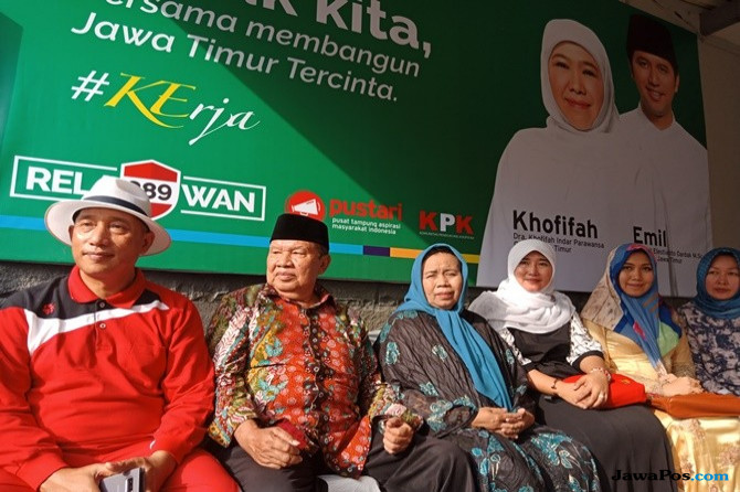 Rahim Kamil Sebutan Posko Pemenangan Khofifah-Emil