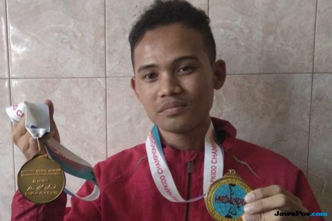Raih 2 Medali Emas Hapkido, Hurairah Diundang Menpora ke Jakarta