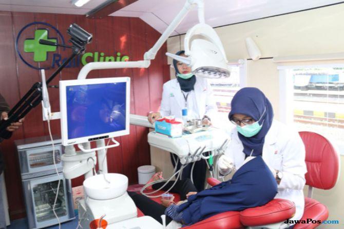 Rail Clinic Fasilitasi Warga di Sleman Untuk Periksa Kesehatan