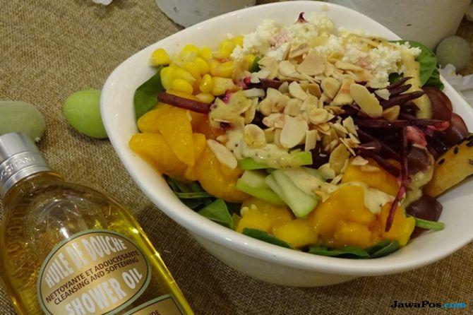 Menu SaladStop, resep salad terbaru, salad almond,