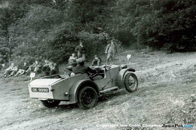 Rayakan 70 Tahun, Pencarian Mobil Pertama Lotus Masih Misteri