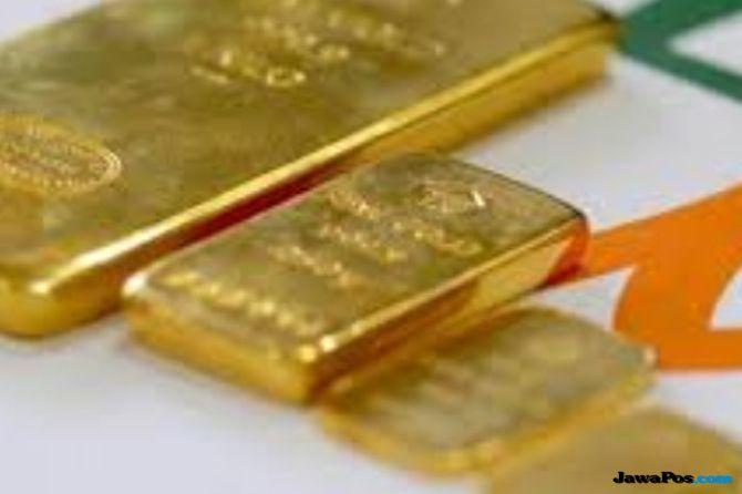 Rayakan Pelemahan Dolar, Emas Antam Naik Rp 1.000