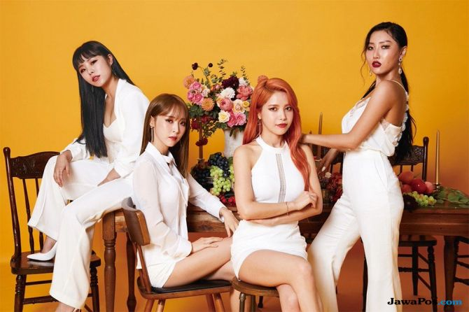 RBW Entertainment Tentukan Konser Mamamoo Lewat Voting Penggemar