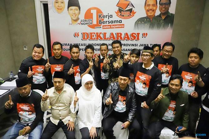 Relawan Indonesia Hebat Dukung Khofifah-Emil