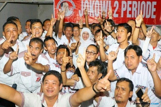 Relawan Jokowi Dukung Khofifah-Emil