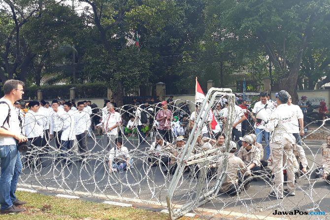 Massa Jokowi Maruf Amin