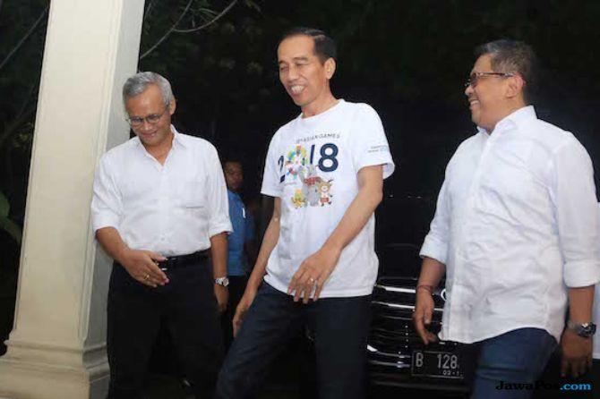 Jokowi dan Sekjen PDIP