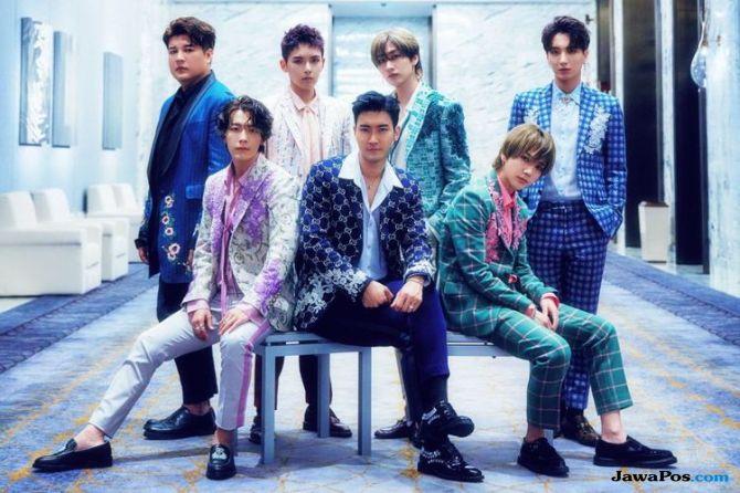 Resmi Rilis, Super Junior Latinan ala Korea di MV 'One More Time'