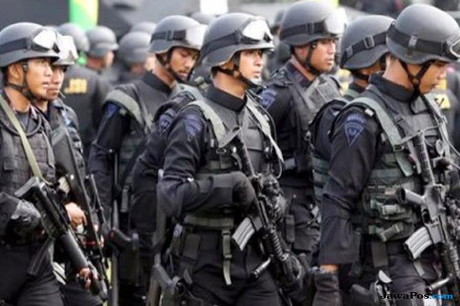 Ribuan Personel Bersenjata Amankan Kunjungan Jokowi di Balikpapan