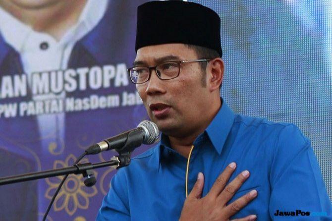 Ridwan Kamil-UU Unggul Sementara Atas Tiga Paslon Pilgub Jabar