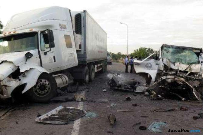 Rombongan Pengantin Kecelakaan 13 Tewas Termasuk Mempelai Pria