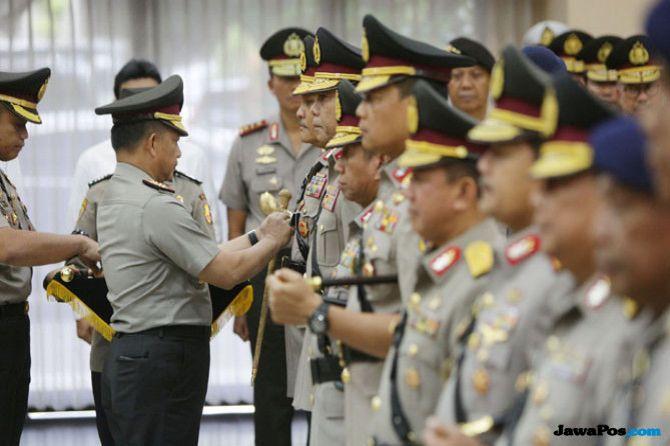 Royke Hingga Boy Rafli, Ini Daftar Rotasi Para Jenderal di Polri
