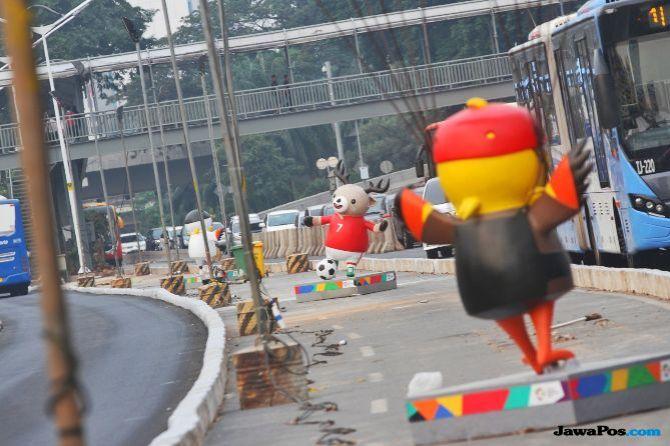 Ruas Jalan Ini Ditutup Jelang Closing Ceremony Asian Games