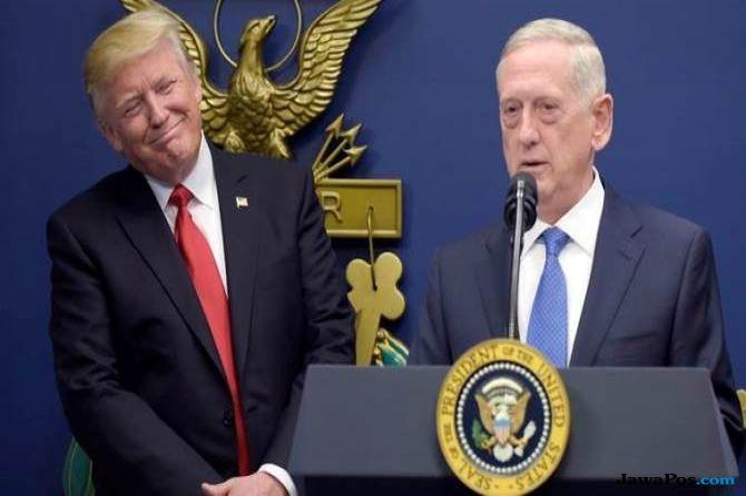 Rudal Syria, Menhan AS Ingatkan Trump Risiko Konfrontasi dengan Rusia