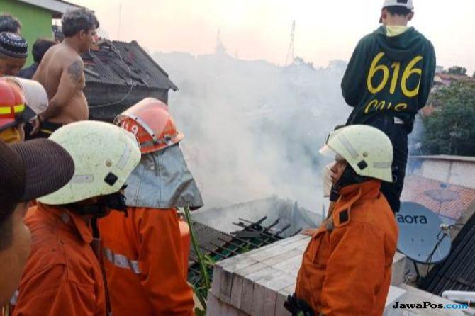 Rumah Warga di Pejaten Hangus Terbakar, Kerugian Capai Rp 160 Juta