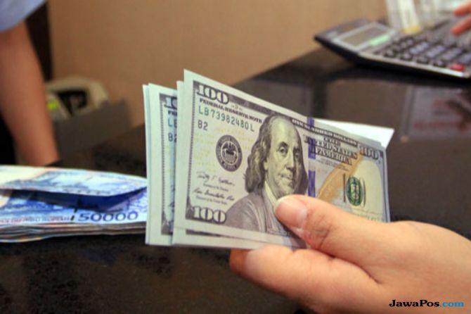 Rupiah Tembus Rp 14.500 Per USD, Pasar Pasang Level Kunci Di Rp 14.700