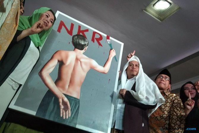 Sah! Keluarga Gus Dur Dukung Jokowi-Ma'ruf Amin