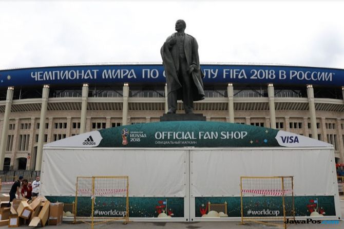 Piala Dunia 2018, Opening Ceremony, Rusia, Stadion Luzhniki, Laporan Langsung dari Rusia