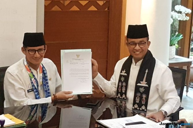 Sandi Ingatkan Gerindra dan PKS Libatkan Anies Baswedan