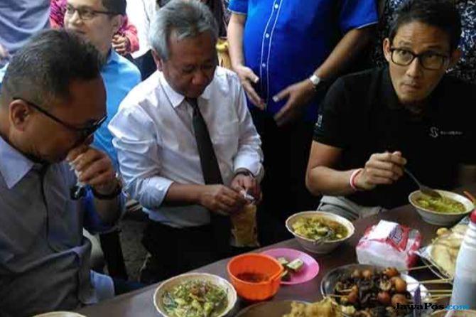 Sandi Uno: Sepiring Makan Siang di Jakarta Lebih Mahal dari Singapura
