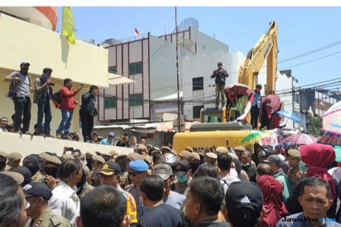 Sebut Ada Intimidasi, Pedagang Sentral Makassar Menolak Digusur