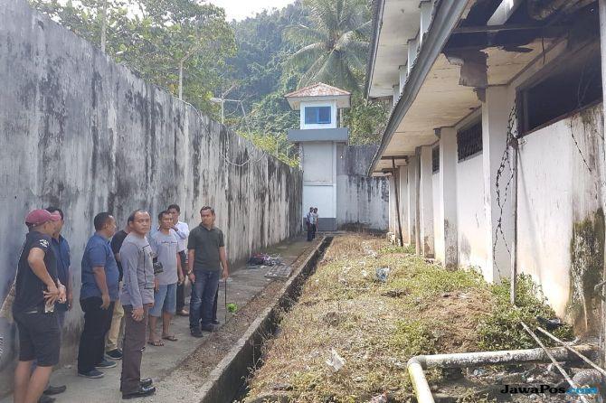 Sel Digergaji, 31 Napi di Lapas Narkotika Jayapura Kabur