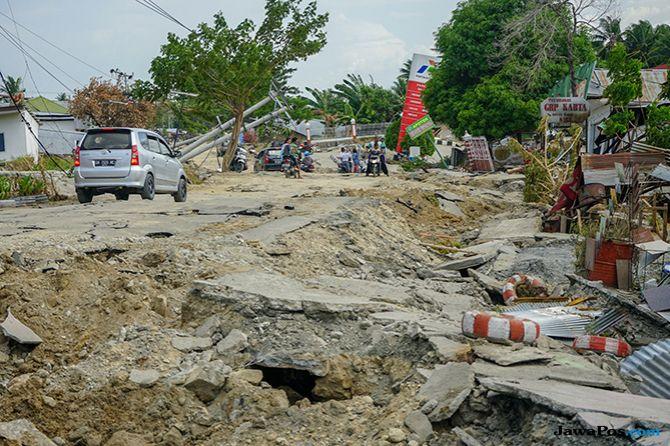 Selamat Dari Gempa Sulteng, Rumah Warga Berpindah 300 Meter