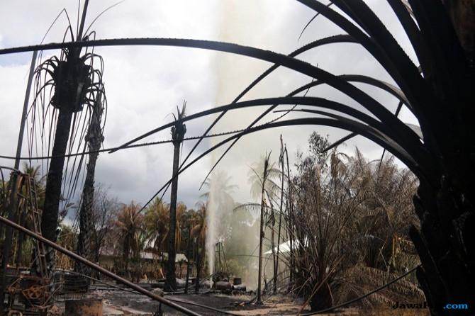 Semburan Api di Sumur Tambang Ilegal Padam, Total Korban 22 Orang