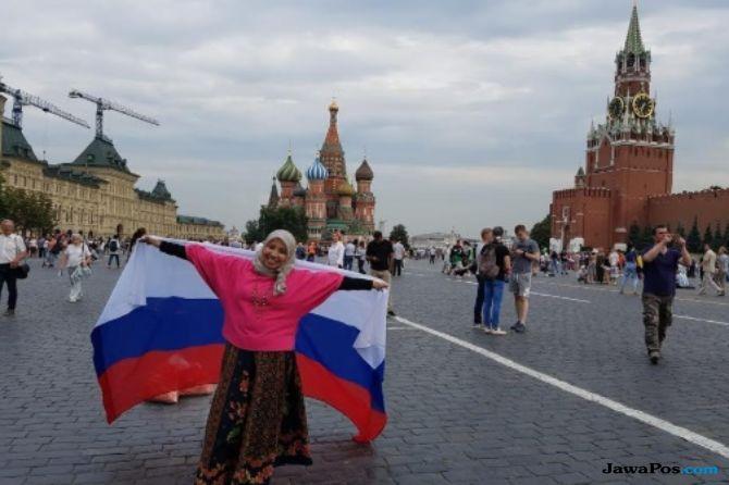Sempat Nyasar, Dokter Rima Cerita Ramahnya Warga Lokal Saat ke Rusia