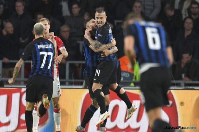 Liga Champions, PSV Eindhoven, Inter Milan