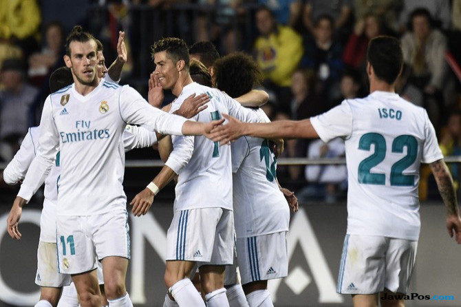 Villarreal 2-2 Real Madrid, Hasil Real Madrid vs Villarreal, Real Madrid, Cristiano Ronaldo