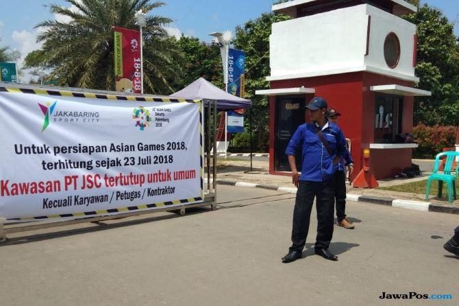 Senin Depan, Simulasi Lalu Lintas Asian Games Diujicobakan