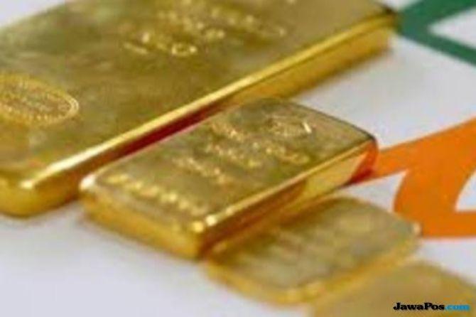 Sentimen Perang Dagang Dan The Fed Bikin Kilau Emas Meredup
