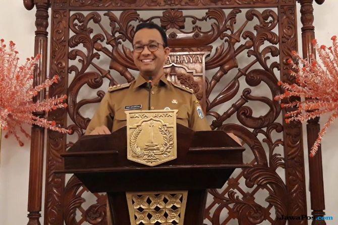 Senyum Kecil, Begini Respons Anies Soal Harga Makanan di Jakarta Mahal