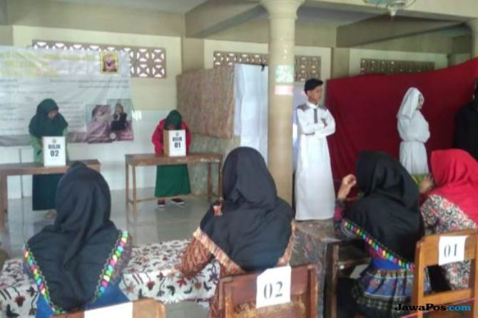 Seram, Tema Pemilihan OSIS di Malang dari Penjara Hingga Kuburan