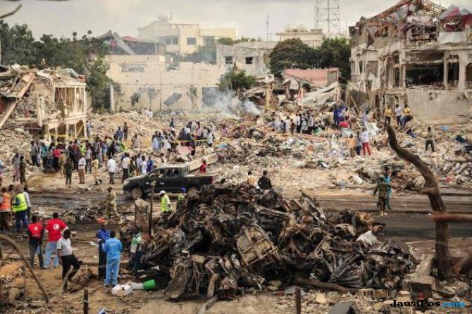 Serangan Bom Saat Lebaran di Nigeria Tewaskan 31 Orang