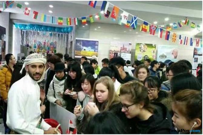Seru! Pentas Mahasiswa Indonesia di Tiongkok