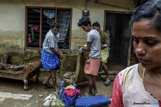 banjir india, india banjir bandang, banjir kerala india