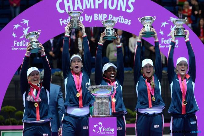 Setelah Menunggu Sejak 2000, AS Kembali Raih Gelar Juara Fed Cup