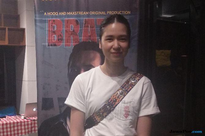 Shooting Web Series 'Brata', Laura Basuki  Akui Sempat Tercekik