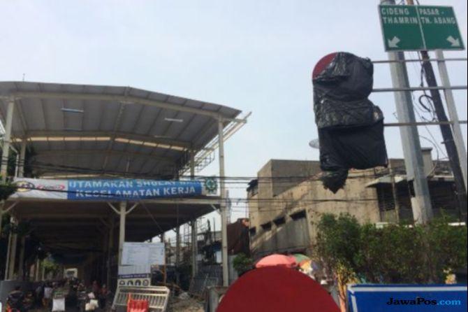 Skybridge Rampung, Jalan Jatibaru Tanah Abang Dibuka 15 Oktober