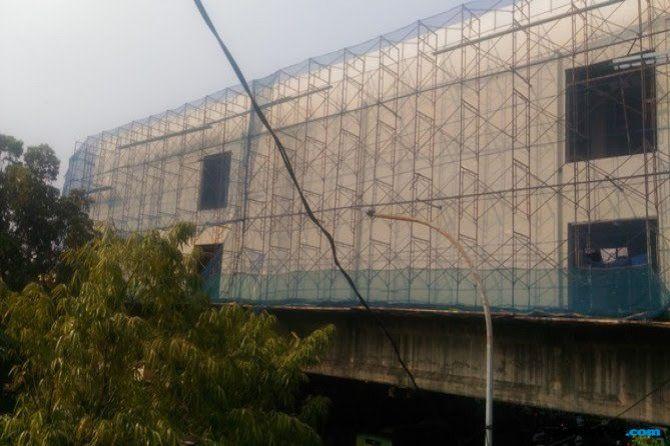 Skybridge Tanah Abang Mulai Dibangun, Target 2 Bulan Rampung