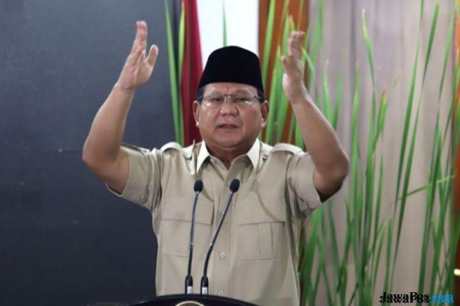 Slogan 'Make Indonesia Great Again' Disebut Plagiat, Ini Kata Prabowo