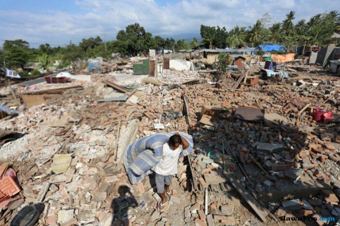 SOP Belum Rampung Dana Bantuan Gempa Belum Kunjung Cair
